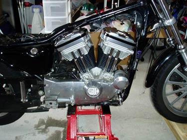 883 1212 Sportster Engine Conversion
