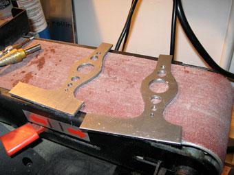 Cutting Homemade Custom Motorcycle Battery Box