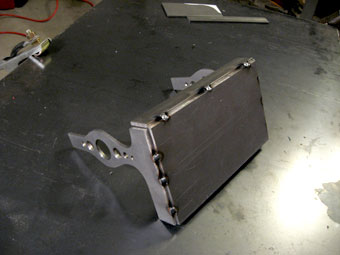 Welding a Homemade Custom Motorcycle Battery Box