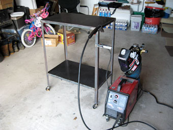 Do it yourself welding table
