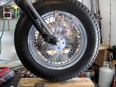 front brake caliper rotor