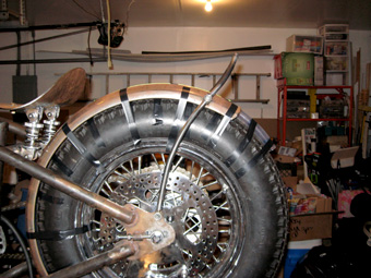 Bobber Rear Fender Struts