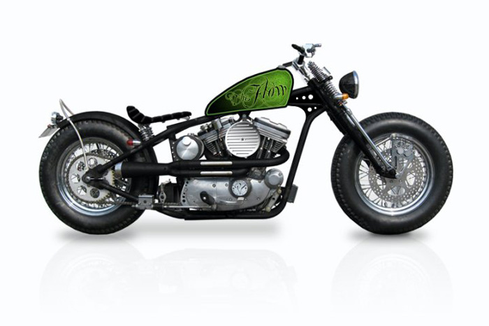 The Flow Custom Bobber Chopper Paint