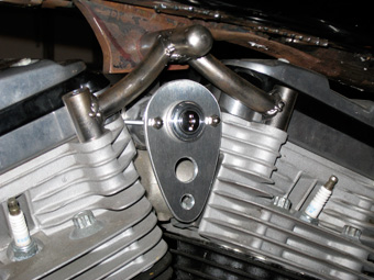 Custom Chopper Ignition Switch Mount