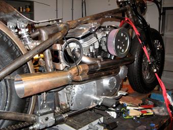 Harley Sportster Exhaust