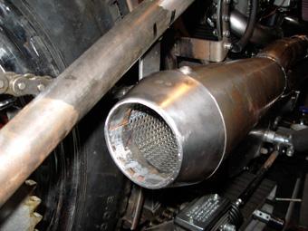 Harley Exhaust Tip Baffle
