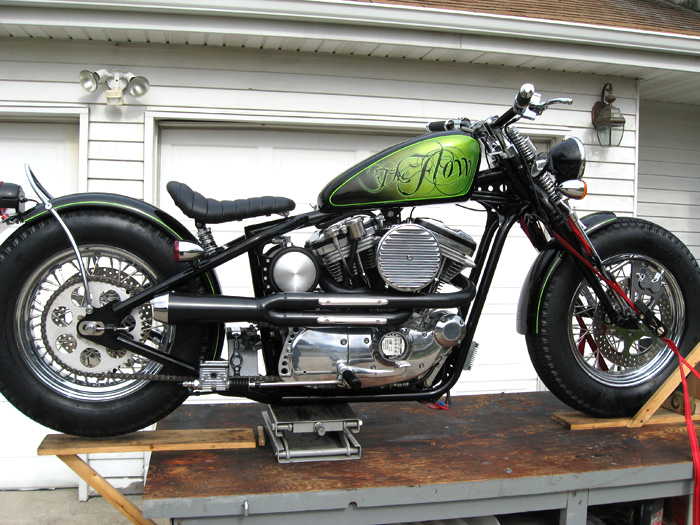 The Flow Custom Harley